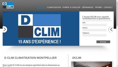 Site internet de D Clim