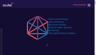 Site internet de Dcube