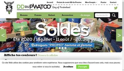 Site internet de Dd du Pwatoo
