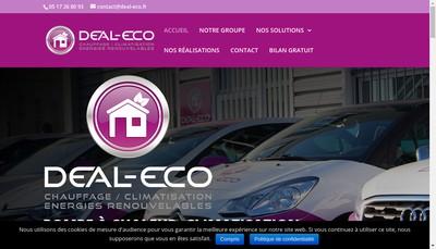Site internet de Deal - Eco