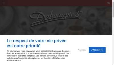 Site internet de Debeaupte 87