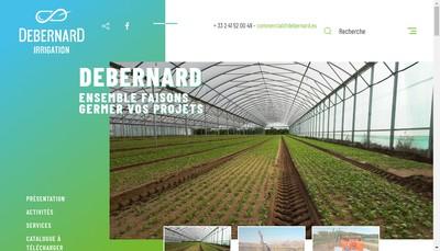 Site internet de Etablissements Debernard