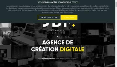 Site internet de De Bussac Multimedia