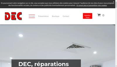 Site internet de Denis et Croisier