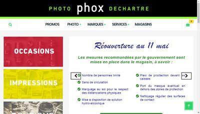 Site internet de Dechartre Image