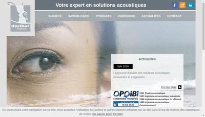 Site internet de Decibel France