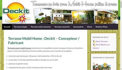 Site internet de Deckit