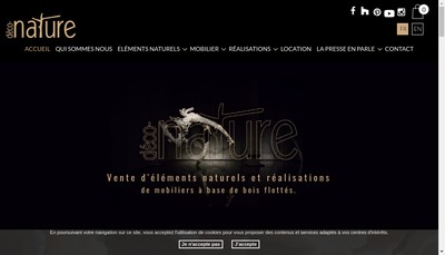 Site internet de Deco-Nature