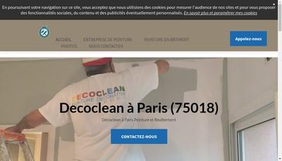 Site internet de Decoclean