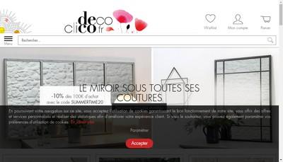 Site internet de Decoclico