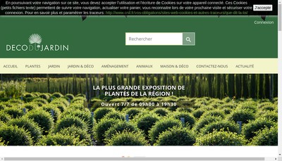 Site internet de www.decodujardin.fr - Deco du Jardin