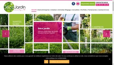 Site internet de Deco Jardin