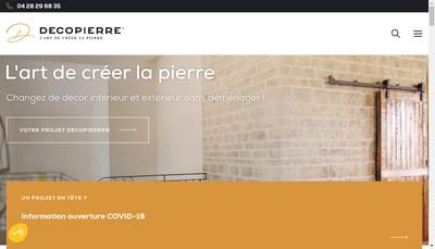 Site internet de Decopierre