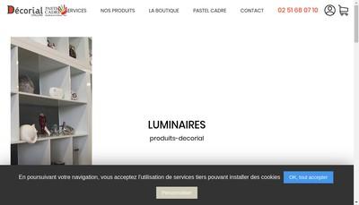 Site internet de Pastel Cadre
