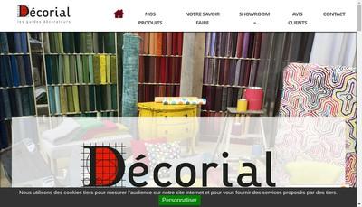 Site internet de Decorial