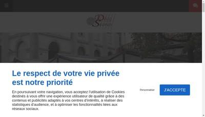 Site internet de Deco Stores