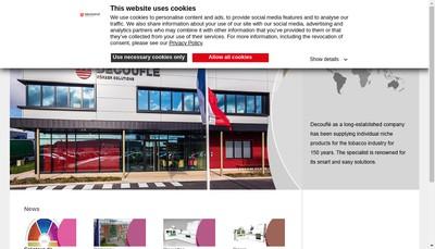 Site internet de Decoufle SARL
