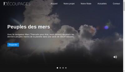 Site internet de Decoupages