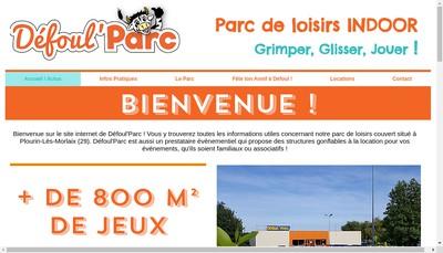 Site internet de Defoul'Parc