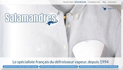 Site internet de Salamandres Developpement