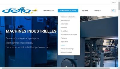 Site internet de Defta Airax