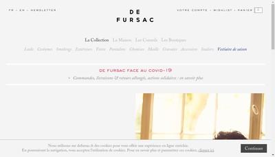 Site internet de De Fursac