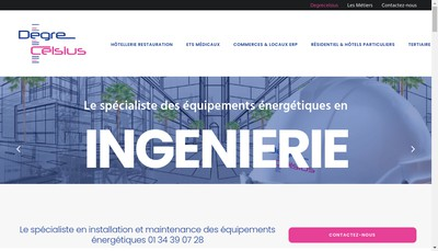 Site internet de Degre Celsius