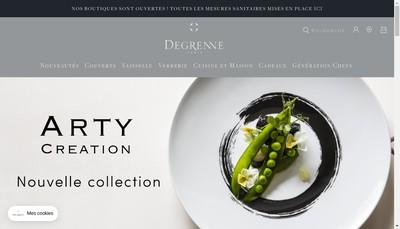 Site internet de Degrenne