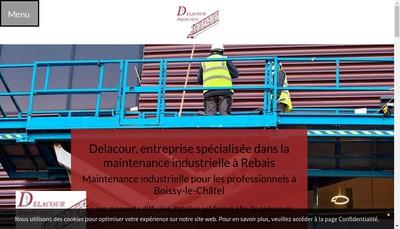 Site internet de Delacour