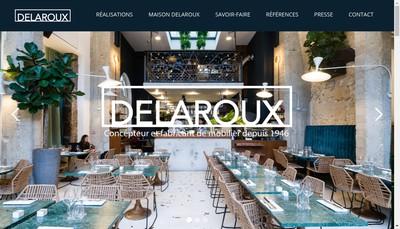 Site internet de Delaroux Ameublement