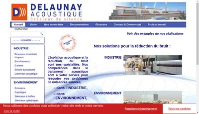 Site internet de Delaunay SAS