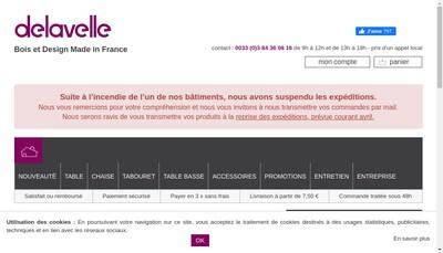 Site internet de Atelier Hugo Delavelle