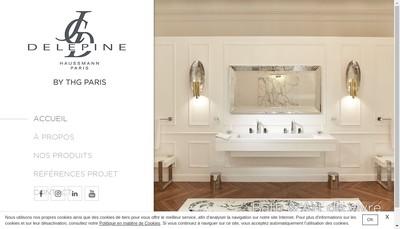 Site internet de Jcd Creations Paris