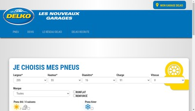 Site internet de Delko