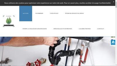 Site internet de Delmas Denis Plomberie Chauffage