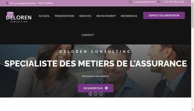 Site internet de Deloren
