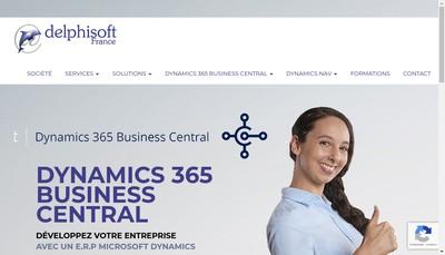 Site internet de Delphisoft France