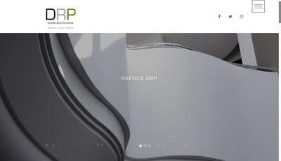 Site internet de Delprat Relations Presse