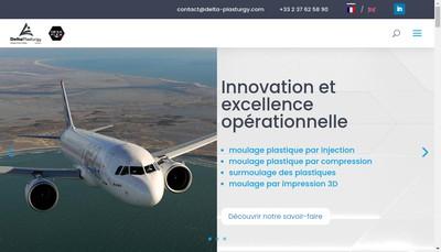 Site internet de Delta Plasturgy