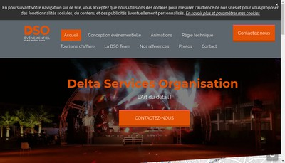 Site internet de Delta Services Organisation