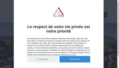 Site internet de Delta Bois