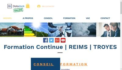 Site internet de Delteis