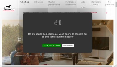 Site internet de Demeco