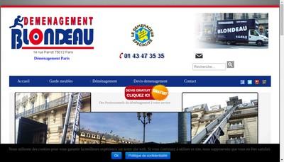 Site internet de Ab Blond & Cie - Ab Blond Demen - Actio