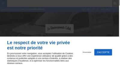 Site internet de Les déménagements CULLELL