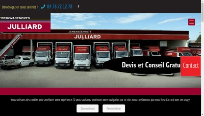 Site internet de Demepack Rhone Alpes