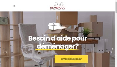 Site internet de Agence Paris Dem