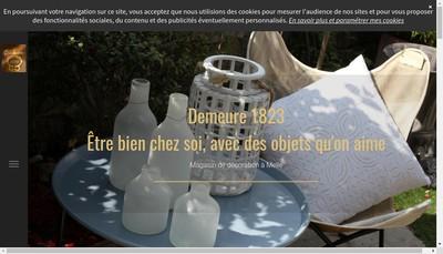 Site internet de SARL Demeure 1823