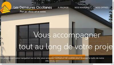 Site internet de Les Demeures Occitanes