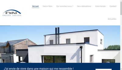 Site internet de Demeures Nantaises